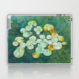 Tranquil lily pond Laptop & iPad Skin