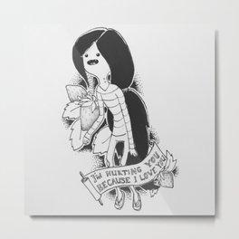 Marceline Flash Style Metal Print