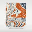 blue and orange marble abstract texture Pattern by mani1705