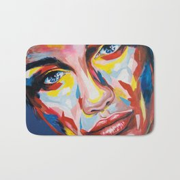 Elisabeth by carographic Bath Mat