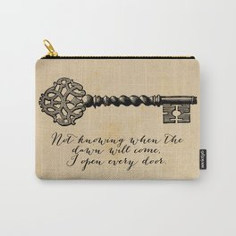 Emily Dickinson - I Open Every Door Carry-All Pouch