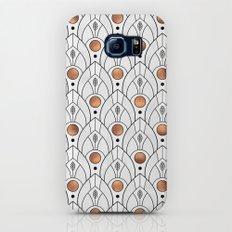 Art Deco Leaves / Version 2 Galaxy S7 Slim Case