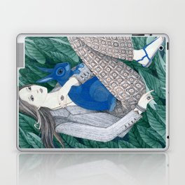 Blue Bunny Laptop & iPad Skin