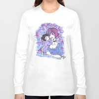 mother Long Sleeve T-shirts featuring Mother by T.I.B ARTWORK