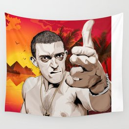 La Haine Wall Tapestry