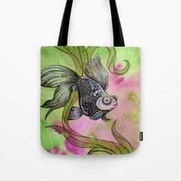Moorfish on Green Tote Bag