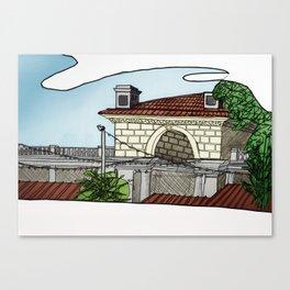 Union Square Pavilion Canvas Print