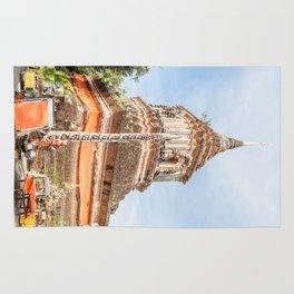 The Chedi of Wat Lok Molee, Chiang Mai, Thailand Rug