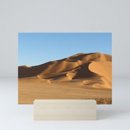 Sand Dunes Sahara Desert Landscape 13 Mini Art Print