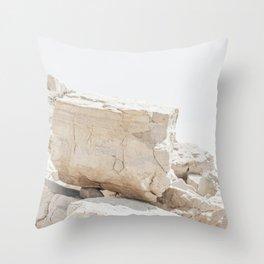 Mediterranean Beach Throw Pillow