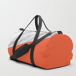 Marble and Flame Color Duffle Bag