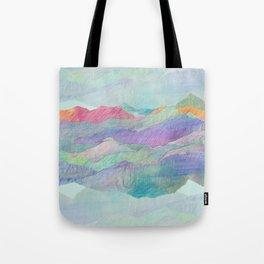 Everything Beautiful- Mountain Tote Bag