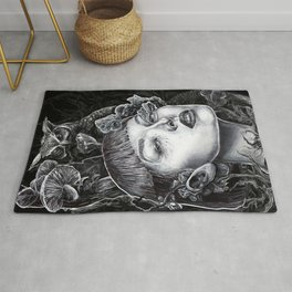 Owls & Fungal Decay Rug