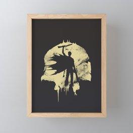 King Framed Mini Art Print