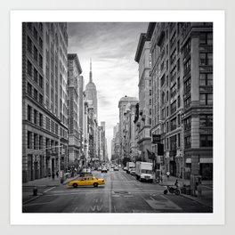 NEW YORK CITY Fifth Avenue Art Print