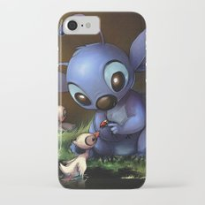 LILO E STITCH: CUTE STITCH PLAYING Slim Case iPhone 7