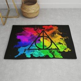 Rainbow Hallows  Rug