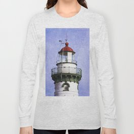 New Presque Isle Lighthouse Long Sleeve T-shirt