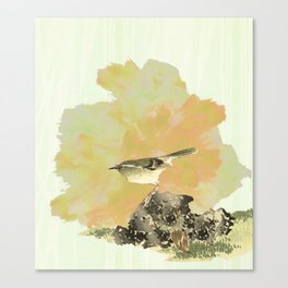 Oh !To be a bird! Canvas Print