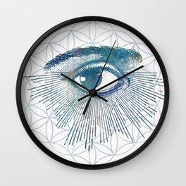 Mandala Vision Flower of Life Wall Clock
