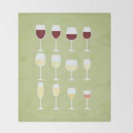 Wine Throw Blanket
