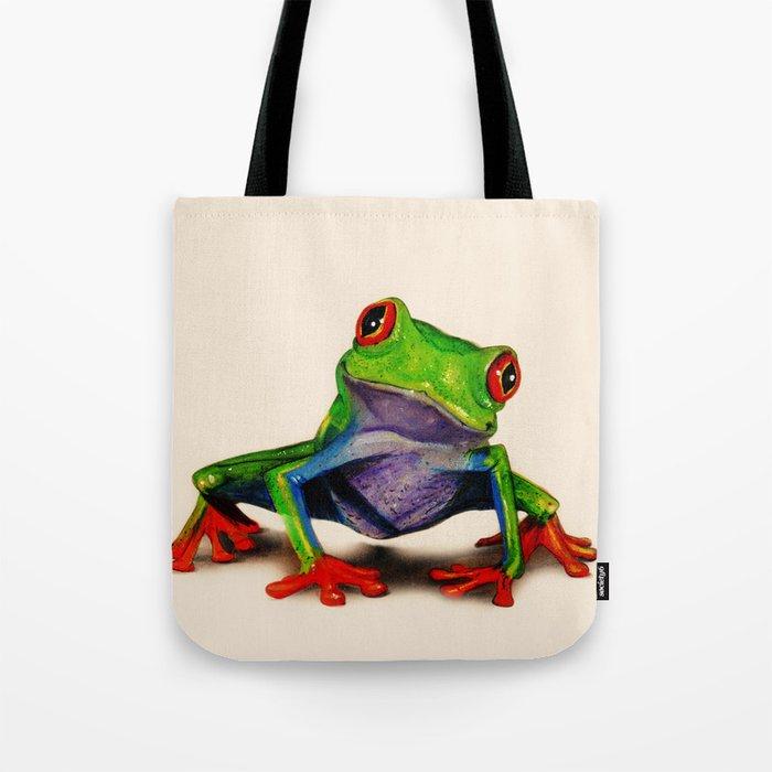Mr. Ribbit Tote Bag