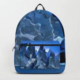 Perito Moreno Glacier Valhalla Entrance Condensed Glacial Castle Backpack