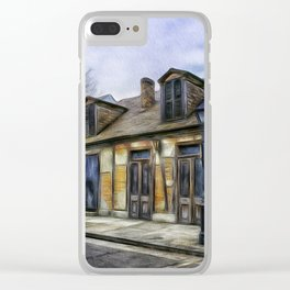 The Old Blacksmith Shop Clear iPhone Case
