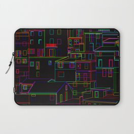 Midnight in Manarola, Cinque Terre, Italy Laptop Sleeve