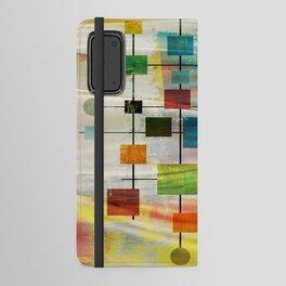 Mid-Century Modern Art 1.3 -  Graffiti Style Android Wallet Case
