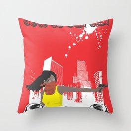 Kill or Die Throw Pillow