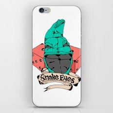 Snake Eyes iPhone & iPod Skin