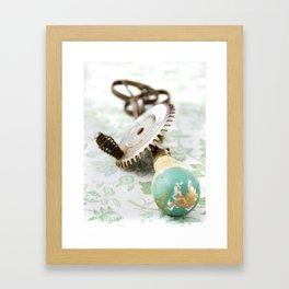 Vintage Eggbeater Framed Art Print