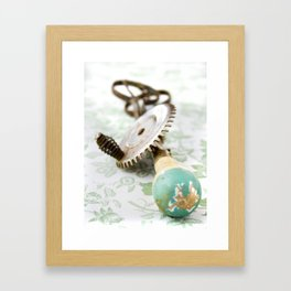 Vintage Eggbeater Framed Art Print