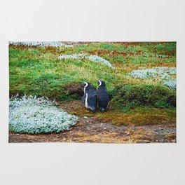 Magellanic Penguins in Love Rug