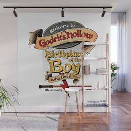 Birthplace of the Boy Who Lived Wall Mural