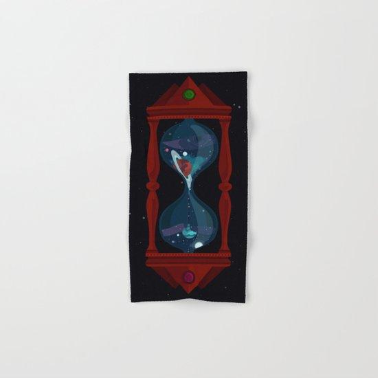 Cosmic Hourglass Hand & Bath Towel
