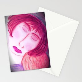 Her Baby Made Her Whole... Stationery Cards