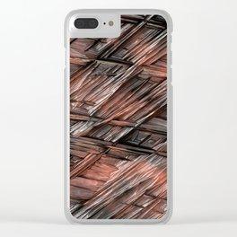 Grannys Hut - Structure 1B Clear iPhone Case