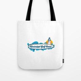 Mississippi's Gulf Coast. Tote Bag