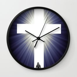 At the Foot of the Cross Wall Clock