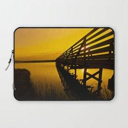 Sunrise Bolsa Chica Wetlands 2 Laptop Sleeve