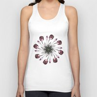 tulip Tank Tops featuring tulip by Yuli Klaus