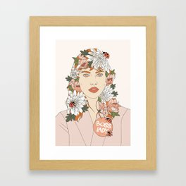 Boss Lady-Bug Framed Art Print
