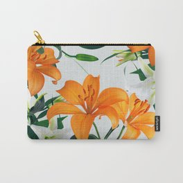 Glorious Lilies Carry-All Pouch