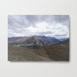 Lost in Otago Metal Print