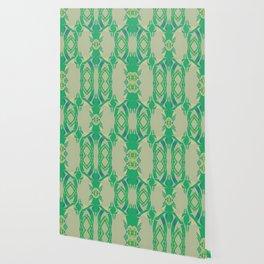 Offshore Greens (Kelly) Wallpaper