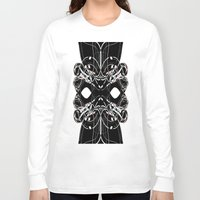 madonna Long Sleeve T-shirts featuring Madonna Sequence by Edward Michael Supranowicz