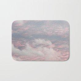 Cloud layers of Pink Bath Mat