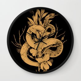 Sage Cleansing Rituals Wall Clock